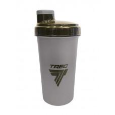 Trec Nutrition Шейкер Special Forces, 700 мл, цвет: серый-оливковый