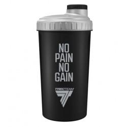 Trec Nutrition Шейкер No pain, no gain, 1 шт, цвет: черный