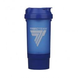 Trec Nutrition Шейкер с контейнером I'm Ready, 500 мл, цвет: голубой