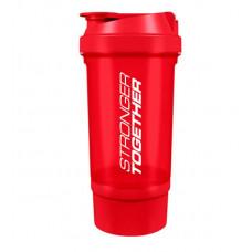 Trec Nutrition Шейкер Stronger Together, 500 мл, цвет: сине-голубой