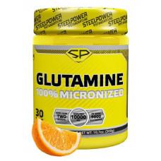 Глютамин GLUTAMINE, вкус «Апельсин», 300 гр, STEELPOWER