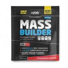 Гейнер Mass Builder, вкус «Йогурт с клубникой», саше 100 гр, VPLab