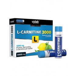 L-карнитин, 3000 мг, вкус «Цитрус», 7 ампул по 25 мл, VPLab