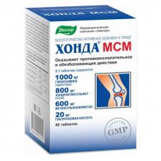 Хонда® МСМ, 60 таблеток, Эвалар