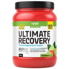 Послетренировочный комплекс Ultimate Recovery, клубника - лайм, 750 г., VPLAB
