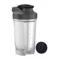 Фитнес-бутылка Shake & Go™ 590 мл, черный