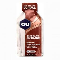 Гель энергетический GU ENERGY GEL - шоколадное безумие