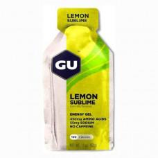 Гель энергетический GU ENERGY GEL - чистый лимон