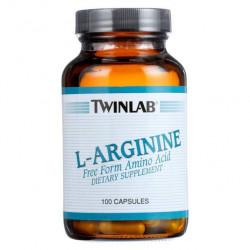 Twinlab L-Arginine 500 mg 100 капс.