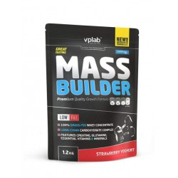 VPLab Nutrition Mass Builder клубничный йогурт 1200 гр.