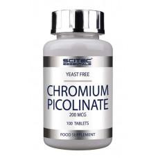 Scitec Nutrition Chromium Picolinate 200mcg 100 таб.