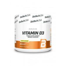 BioTech USA Vitamin D3 150 гр