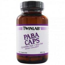 Twinlab PABA 500 мг. 100 капс.