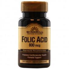 Windmill Folic Acid 800mcg. 100 таб