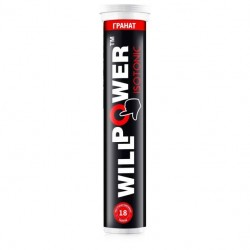 Willpower Isotonic L-Carnitine гранат 18 таб.