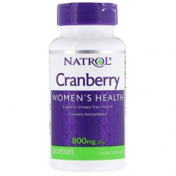 Natrol Cranberry 800 mg 30 капс.