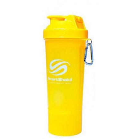 SmartShake Шейкер Slim Series жёлтый 500 мл.