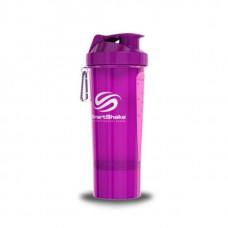 SmartShake Шейкер Smart Slim - прозрачные фиолетовый 500 мл