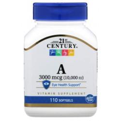 21st Century Vitamin A 10000 IU