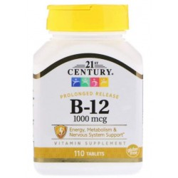21st Century Vitamin B-12 1000 mcg