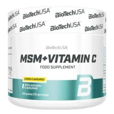BioTech USA MSM + Vitamin C