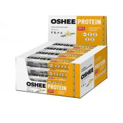 Oshee 30% High Protein Bar - коробка 16шт - Ваниль