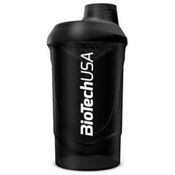 BioTech USA Shaker Wave - Черный, 600 мл