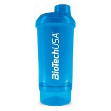BioTech USA Shaker Wave+ Compact 500 ml - Голубой