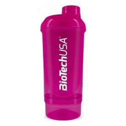 BioTech USA Shaker Wave+ Compact 500 ml - Розовый