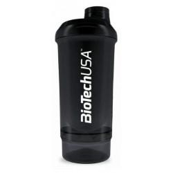 BioTech USA Shaker Wave+ Compact 500 ml - Черный