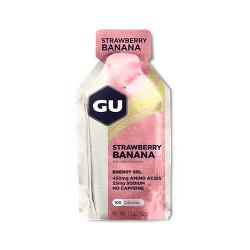 Углеводный гель GU Energy Gel, 32 г, клубника-банан
