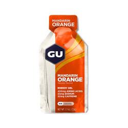 Энергетический гель GU Energy Gel с кофеином, 32 г, апельсин-мандарин