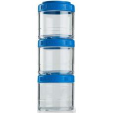 Контейнеры BlenderBottle GoStak 3 контейнера x 100 мл Cyan бирюзовый