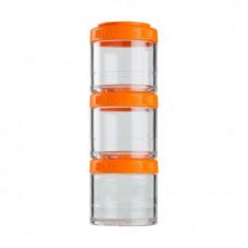 Контейнеры BlenderBottle GoStak 3 контейнера x 100 мл Orange оранжевый