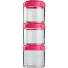 Контейнеры BlenderBottle GoStak 3 контейнера x 100 мл Pink малиновый