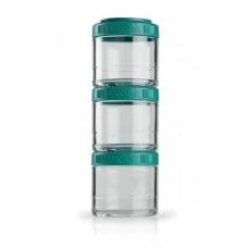 Контейнеры BlenderBottle GoStak 3 контейнера x 100 мл Teal морской голубой