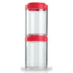Контейнеры BlenderBottle GoStak 2 контейнера x 150 мл Red красный
