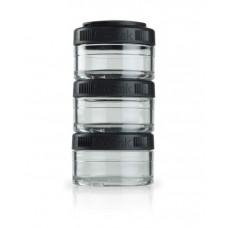 Контейнеры BlenderBottle GoStak 3 контейнера x 60 мл Black черный