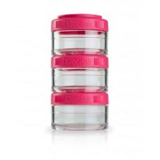 Контейнеры BlenderBottle GoStak 3 контейнера x 60 мл Pink малиновый