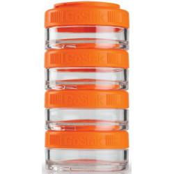 Контейнеры BlenderBottle GoStak 4 контейнера x 40 мл Orange оранжевый