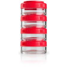 Контейнеры BlenderBottle GoStak 4 контейнера x 40 мл Red красный