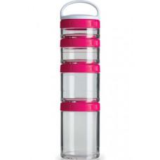Контейнеры BlenderBottle GoStak Starter 40 мл + 60 мл+ 100 мл + 150 мл Pink малиновый