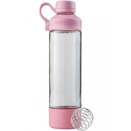 Шейкер стеклянный BlenderBottle Mantra 591 мл Rose Pink розовый