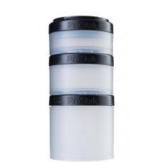 Контейнеры BlenderBottle ProStak Expansion Pak 100 мл + 150 мл + 250 мл Black черный