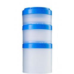 Контейнеры BlenderBottle ProStak Expansion Pak 100 мл + 150 мл + 250 мл Cyan бирюзовый
