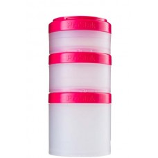 Контейнеры BlenderBottle ProStak Expansion Pak 100 мл + 150 мл + 250 мл Pink малиновый