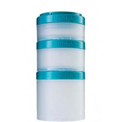 Контейнеры BlenderBottle ProStak Expansion Pak 100 + 150 + 250 мл Teal морской голубой