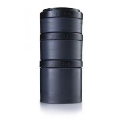 Контейнеры BlenderBottle ProStak Expansion Pak 100 + 150 + 250 мл Full Color Black