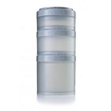 Контейнеры BlenderBottle ProStak Expansion Pak 100 + 150 + 250 мл Full Color Pebble Grey