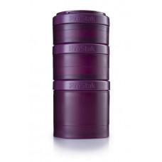 Контейнеры BlenderBottle ProStak Expansion Pak 100 + 150 + 250 мл Full Color Plum сливовый